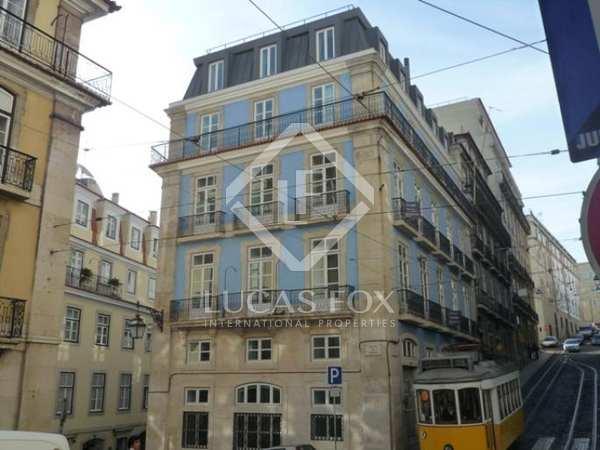 2 bedroom duplex apartment for sale in trendy Chiado, Lisbon