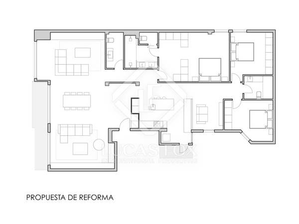 198m² Apartment for sale in El Pla del Remei, Valencia