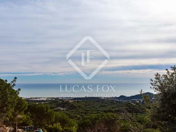 Terrain à bâtir de 600m² a vendre à Sant Andreu de Llavaneres
