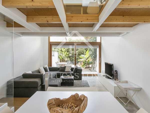 Modern house for rent in Poblenou, Barcelona