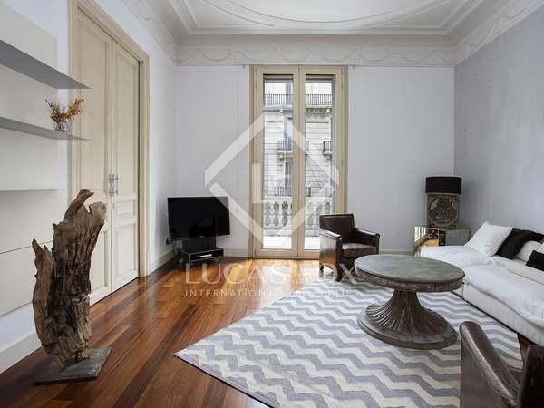 Piso con 10 m² de terraza en alquiler en Eixample Derecho