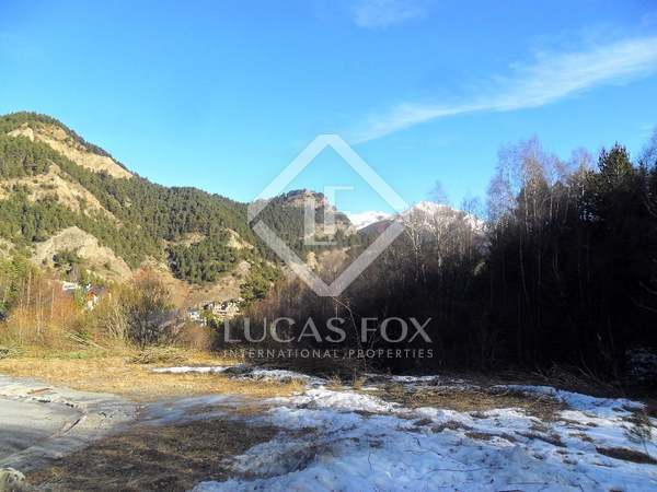 Plot for sale in Vallnord skiing area, Andorra