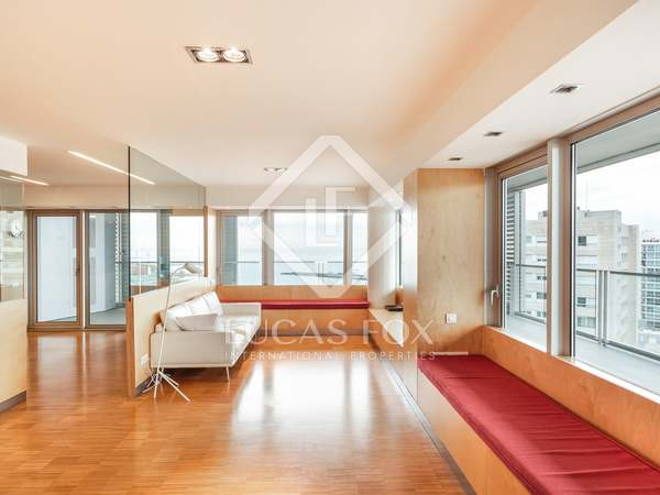 Luxury apartment for rent in Diagonal Mar, Barcelona
