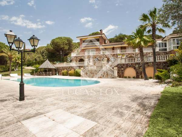 Furnished 5-bedroom house for rent in Sant Vicenç de Montalt
