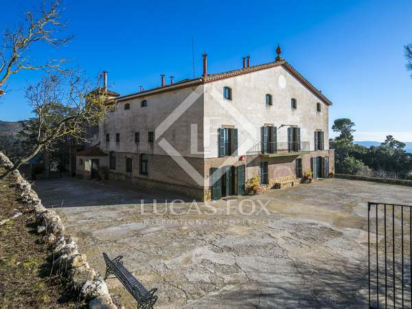 2,507 m² estate for sale in Maresme Inland