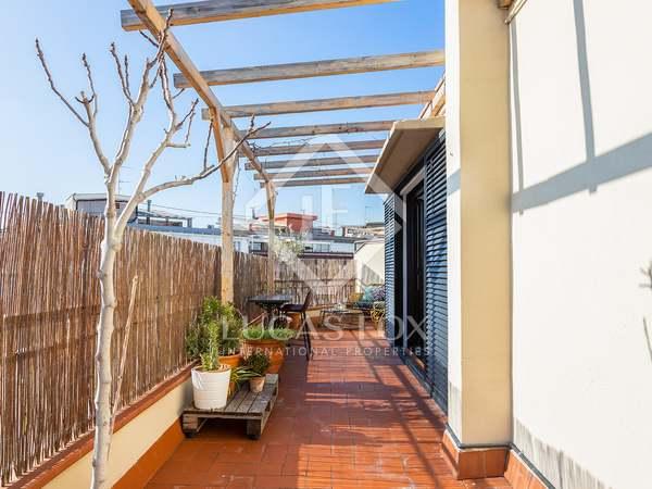 Penthouse van 59m² te koop met 30m² terras in Eixample Links