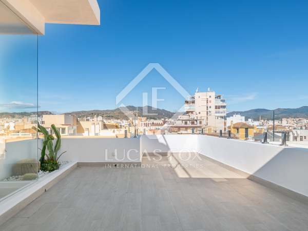 90m² Penthouse with 53m² terrace for sale in Centro / Malagueta