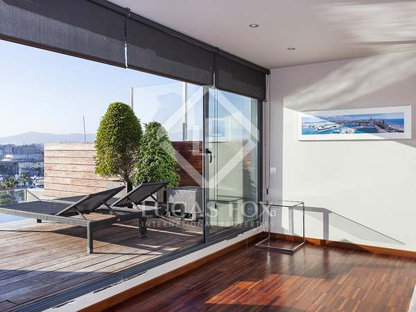 Penthouse for rent in Barceloneta, Barcelona