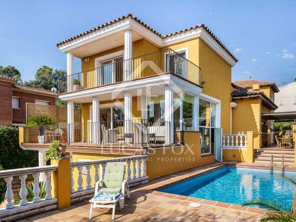 Casa de 384m² con 272m² de jardín en venta en Valldoreix