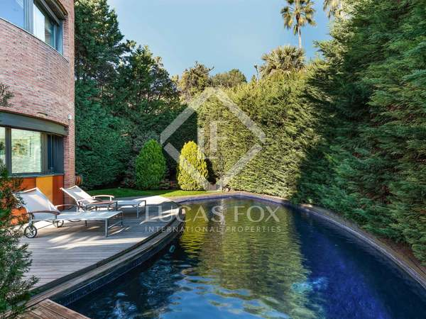 5-bedroom luxury house for sale in Pedralbes, Barcelona.