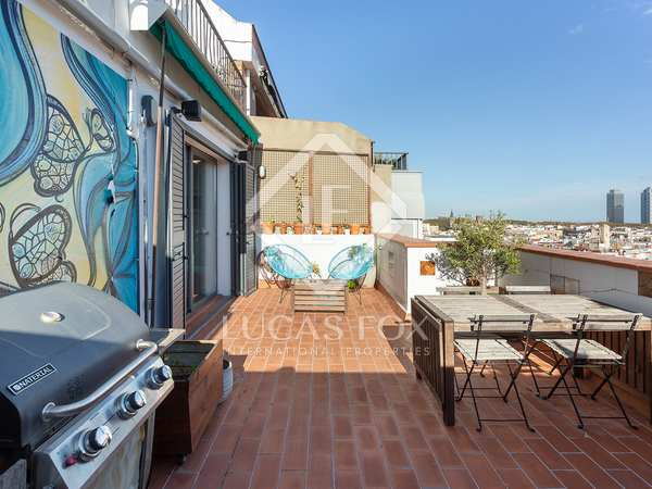 105m² Penthouse with 30m² terrace for sale in El Born