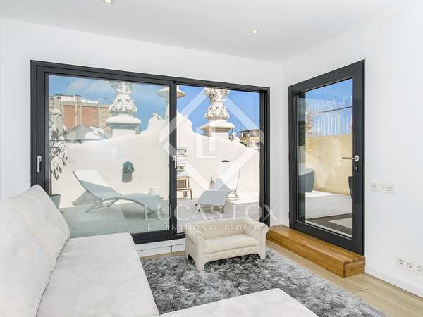 Charming penthouse for rent on Roger de Lluria, Barcelona