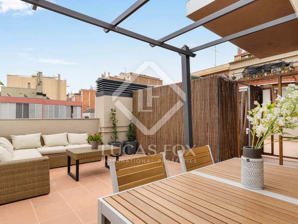 64 m² apartment with 22 m² terrace for sale in Sants