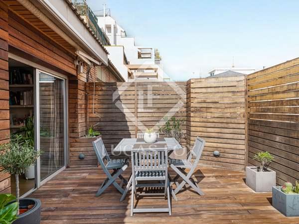 Penthouse van 136m² te koop met 23m² terras in Tres Torres