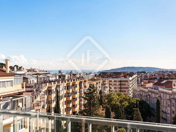 232 m² penthouse with 108 m² terrace for sale in Sant Gervasi