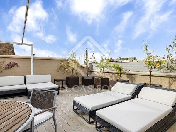 350m² Apartment with 85m² terrace for rent in Sant Gervasi - Galvany