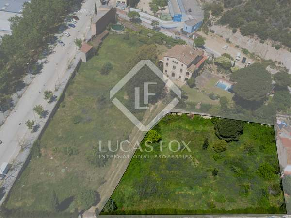 Terrain à bâtir de 2,293m² a vendre à Arenys de Munt