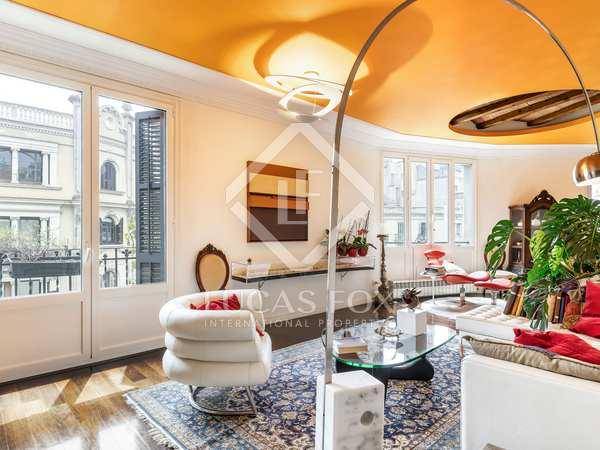 Квартира 206m² аренда в Правый Эшампле, Барселона
