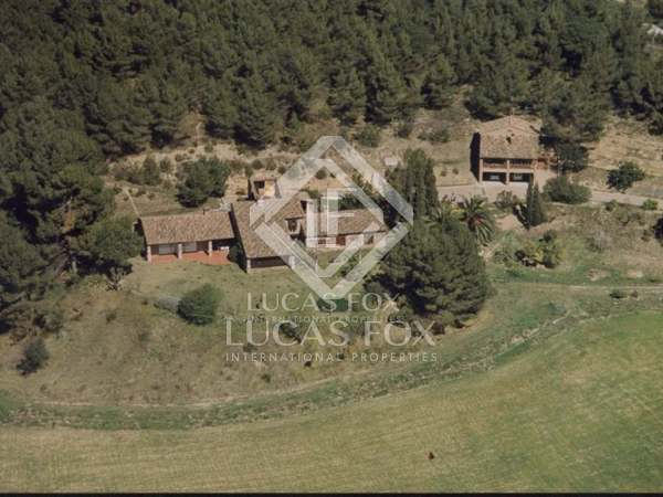 Country estate for rent near Sant Cugat and Barcelona city
