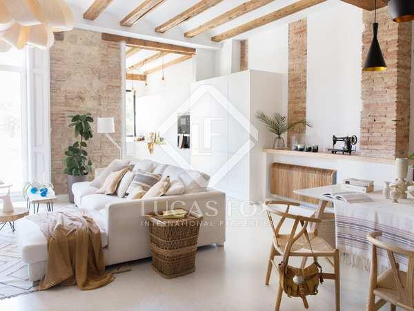 Квартира 208m², 30m² террасa аренда в Эль Кармен, Валенсия