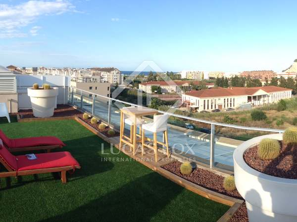 257m² penthouse with 157m² terrace for sale in Dénia