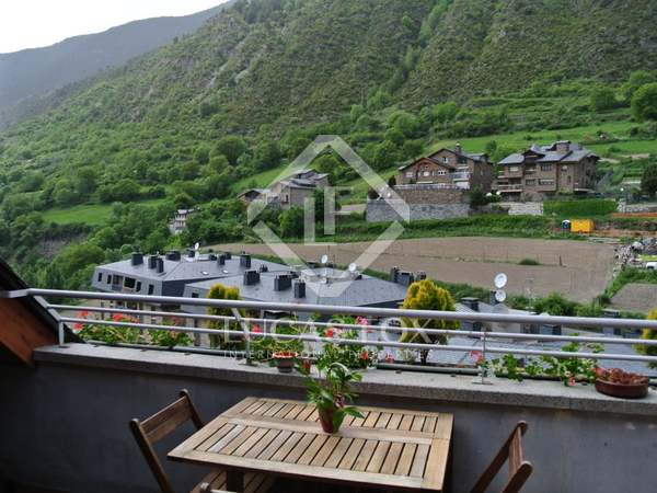 Lovely 3-bedroom penthouse for sale in Encamp, Andorra
