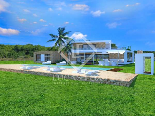 441 m² plot with 2,000 m² garden for sale in San Antonio
