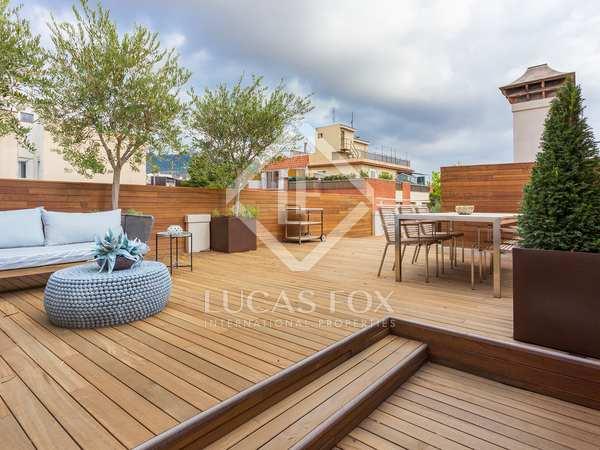 Piso de 85 m² con 130 m² de terraza en venta en Sarrià