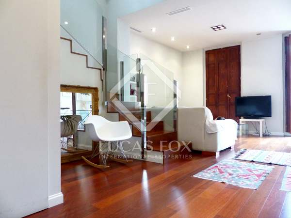 Designer penthouse for sale in the Gran Via area of Valencia