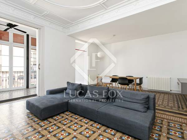 144m² Apartment for rent in Eixample Right, Barcelona