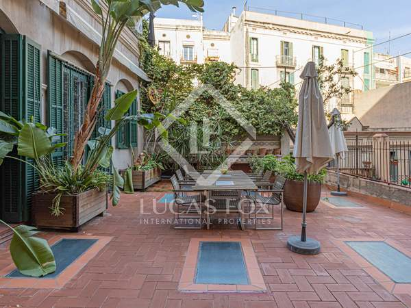 309m² apartment with 90m² terrace for sale in Gótico