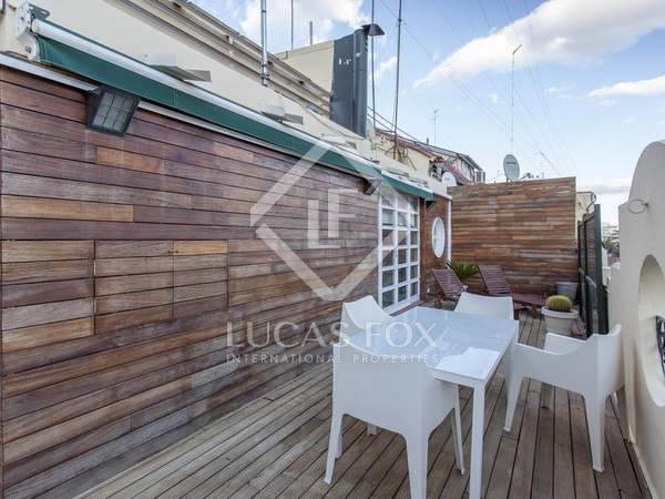130m² Penthouse with 50m² terrace for rent in Gran Vía
