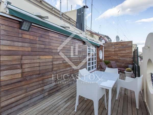 Ático de 119m² con 50m² de terrazas en alquiler en Gran Vía