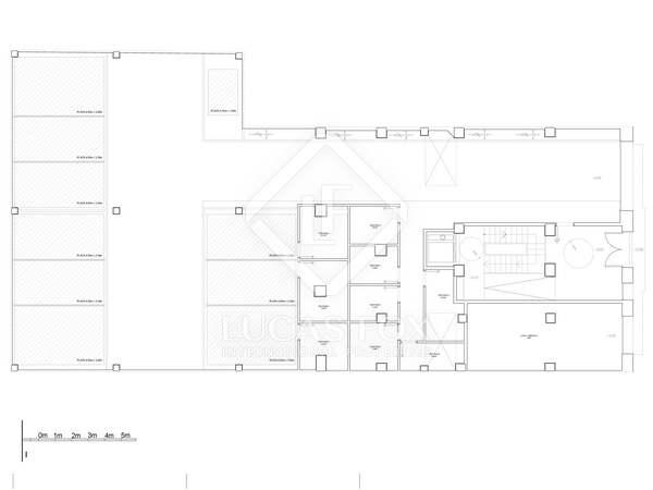 1,461m² Byggnad till salu i Ruzafa, Valencia