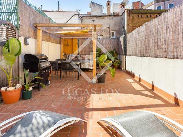 Piso de 78m² con terraza de 40m² en venta en Poble Sec