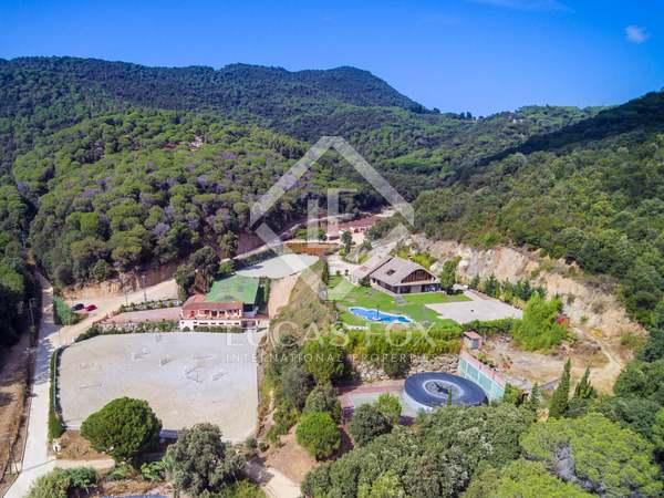 Finca ecuestre de 5.000m² en venta, Sant Andreu de Llavaneres