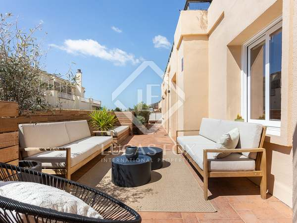 235m² Penthouse with 104m² terrace for sale in Sarrià