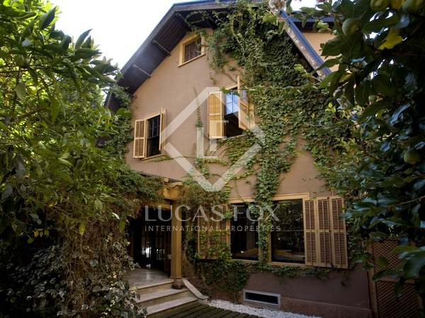 Beautiful house for sale in Tres Torres, Barcelona City.