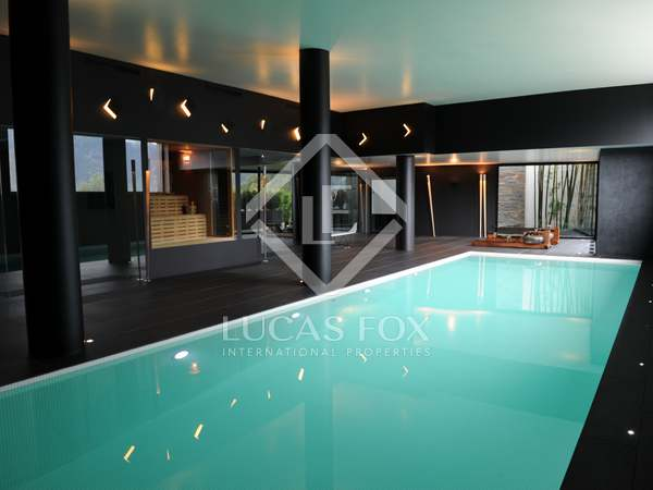 Stunning luxury villa for sale in Andorra