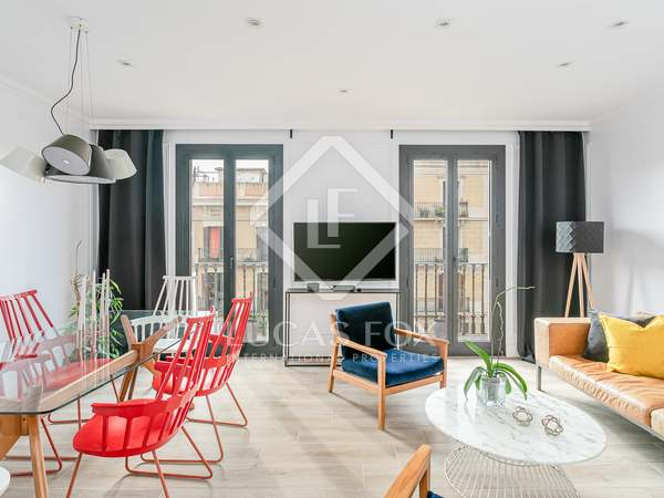 93m² Apartment with 6m² terrace for rent in Eixample Left