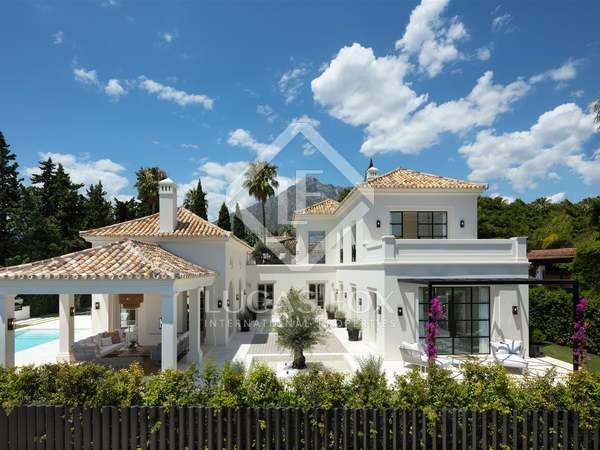 Huis / Villa van 566m² te koop met 125m² terras in Sierra Blanca / Nagüeles
