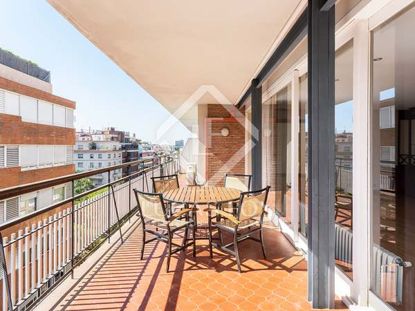 Apartment with 30 m² terrace for sale in Turó Park