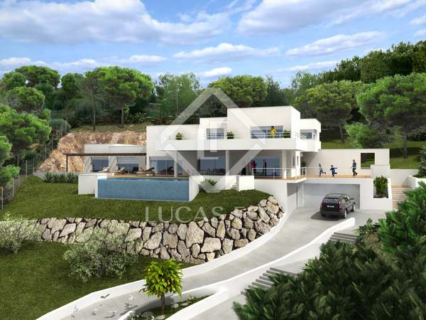 Villa de 4 dormitorios en Can Girona, disponible en 2018