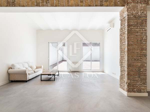 128m² Apartment with 142m² terrace for sale in Poblenou