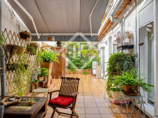 165m² Apartment with 32m² terrace for sale in Gràcia