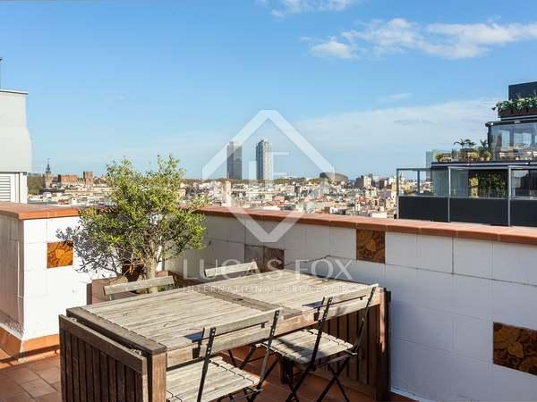 Ático de 105 m² con 30 m² de terraza en venta en El Born