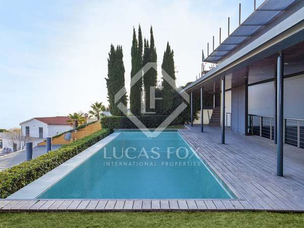 Exclusive villa for sale on Cami de Lliça, Sarrià, Barcelona