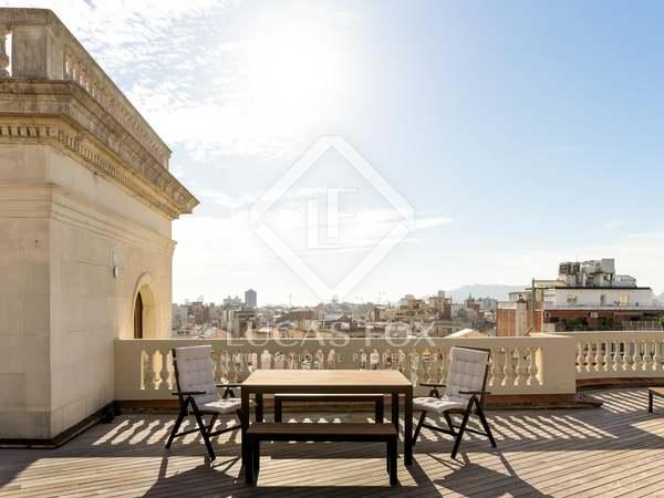 Ático con 166 m² terraza en venta en Eixample Derecho