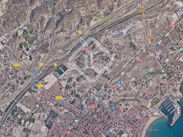 Parcela de 18,950m² en venta en Playa San Juan, Alicante