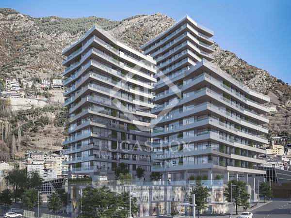 80m² Apartment with 25m² terrace for sale in Escaldes